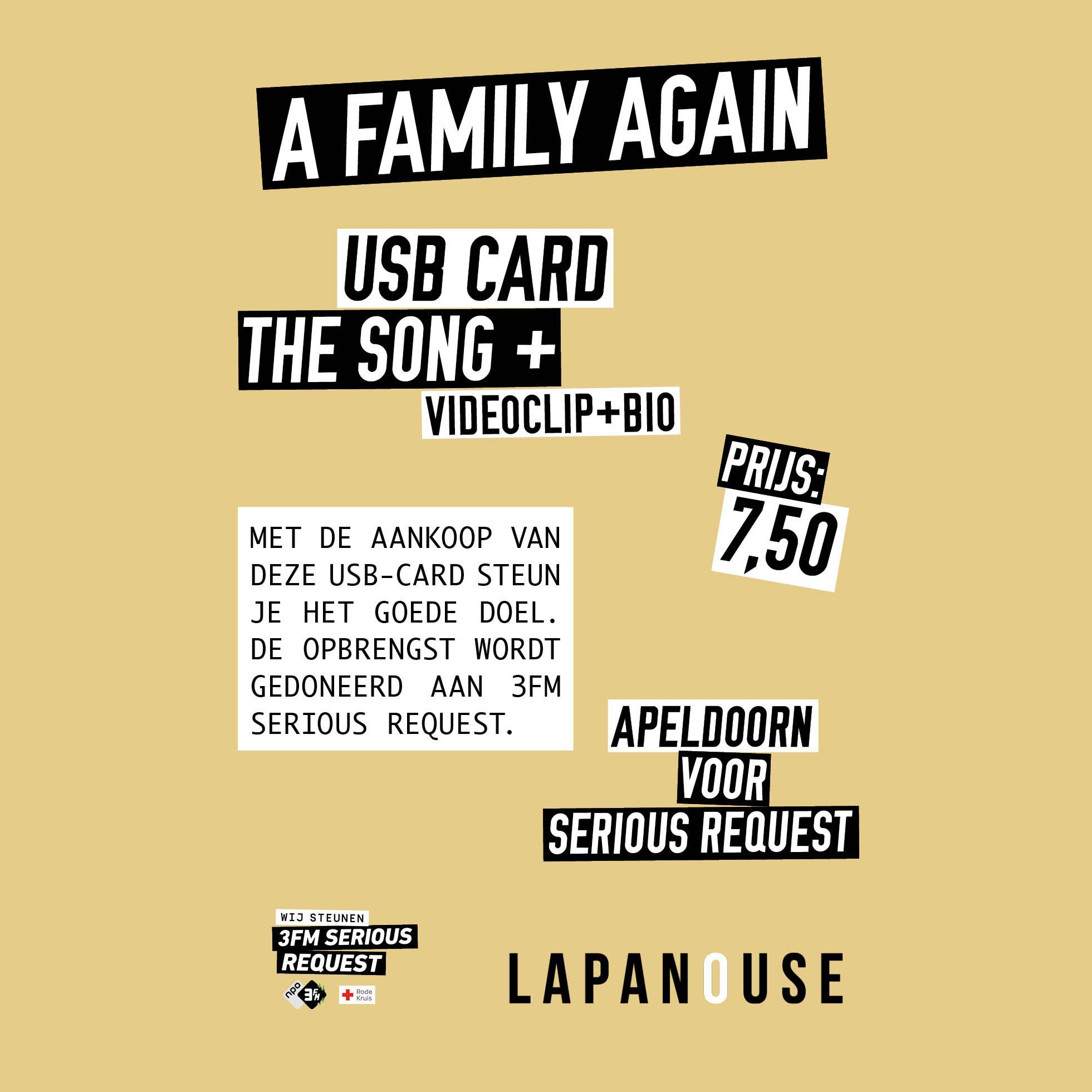USB-card 'A family again'
